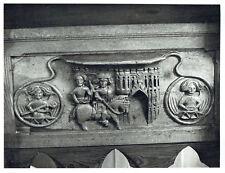 Fornham St Martin, Suffolk Wood Carving, Large 1975 Press Photograph
