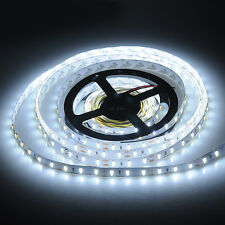 5M SMD 7020 300 LED Strip Cool White Light lamp Non Waterproof 12V Super Bright