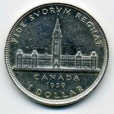 1939 1 Dollar Canada SILVER