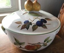 EVESHAM VALE Royal Worcester Covered Casserole NEW, No Box