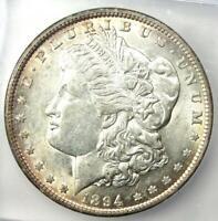 1894-O Morgan Silver Dollar $1 Coin - Certified ICG AU55 - Rare Date!