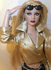 "OOAK 16"" Tonner RICH BITCH Voss Cold as Ice Kit 2 outfits + Swarovski - GORGEOUS"