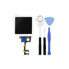 FRAME PER IPOD Nano 6 VETRO  BIANCO TOUCH SCREEN LCD RETINA + PULSANTE HOME