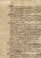 Lucca Cessione di Beni Comune di Santissima Annunziata 1660 c.a