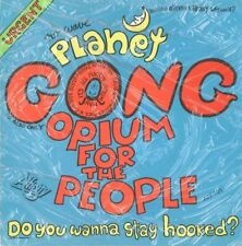 """Planet Gong - Opium For The People / Poet For Sale 7"""" 45rpm VINYL RECORD NEW 70s"""