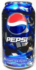EMPTY UNOPEN 12oz American Can Pepsi Abstract Artwork USA Limited Edition 2008
