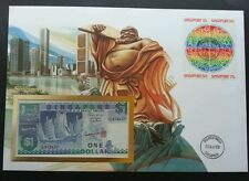 Singapore City Town 1988 Building Tourism Landmark FDC (banknote cover) *Rare