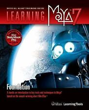 Learning Maya 7: Foundation, Alias Learning Tools, Good Condition, Book