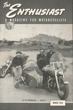 1954 March - The Enthusiast - Vintage Harley-Davidson Motorcycle Magazine