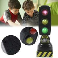 Simulation Traffic Light Toy Signal Model Road Sign Kids Track Series Toy Accs