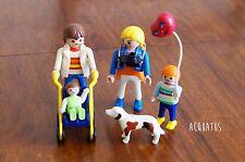 Playmobil 3209 famille avec landau poussette bébé ballon chien
