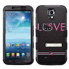 Hello Kitty #Love High Impact Rugged Hybrid Case for Samsung Galaxy Mega 6.3