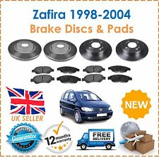 For Vauxhall Zafira MK1 1998 2004 LUCAS Front & Rear Brake Discs & Pads Set New