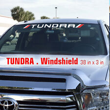 Toyota TRD Off Road Racing Tundra Windshield Vinyl Decal Truck Decals Stikers LB