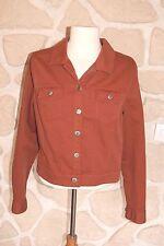 Veste en jeans terracota neuve de marque DIPLODOCUS taille 38 étiqueté à 149€