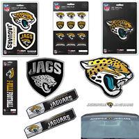 NFL Jacksonville Jaguars Premium Vinyl Decal / Sticker / Emblem - Pick Your Pack