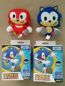 Sonic the Hedgehog BIG HEAD Plush (Sonic and Knuckles) Blind Box