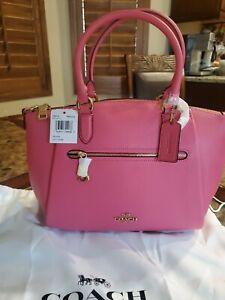 NWT Coach Bag: Elise Satchel Confetti Pink 79316