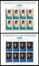 Liechtenstein 797-98 **, Kleinbogen, Briefmarken-Ausstellung LIBA 1982