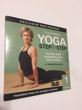 YOGA JOURNAL'S YOGA STEP BY STEP - SESSION 1 NEW DVD Free Shipping!!
