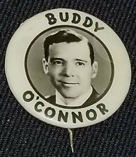 1940's - BUDDY 0'CONNOR H.O.F. - MONTREAL CANADIENS / NEW YORK RANGERS - BUTTON
