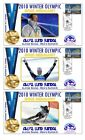 AKSEL SVINDAL 2010 OLYMPIC SUPER G SET OF GOLD COVERS