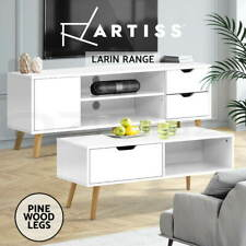 Artiss Coffee Table and TV Cabinet Entertainment Unit Stand Storage Drawers