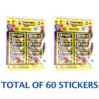 2020 PANINI PREMIER LEAGUE MULTI-PACK 12 PACK TOTAL OF 60 STICKERS FREE SHIP USA