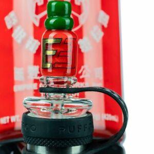 EMPIRE GLASSWORKS PEAK ATTACHMENT MATCHING Sriracha Set  /  Sent Quick from Az