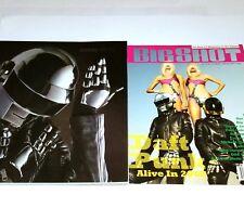"""DAFT PUNK 2 MAGAZINE LOT BIG SHOT DJ DITA VON TEESE Book ELECTRO EDM cd lp 12"""""""