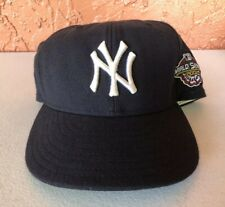 NEW YORK YANKEES Hat 2001 World Series Patch Fitted Size 7 3/8 New Era 59Fifty