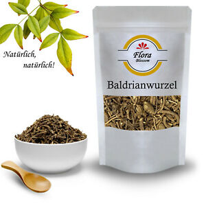 Baldrianwurzel - Baldriantee Wurzel Geschnitten - Getrocknet Baldrian Tee 1A
