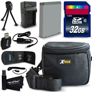 32GB accessories Kit for Sony Cyber-shot WX500, WX350, HX400V, H400
