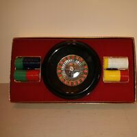 Vintage Roulette Game in Original box - E.S. Lowe Co.  Missing mat. Extra balls.
