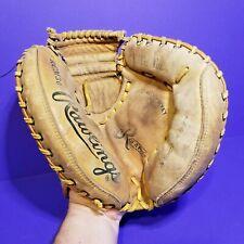 Rawlings RCM30 Fastback Catcher Glove Mitt Vintage LiTe Toe Deep Well Pocket  BG