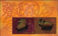 Singapore 2011  Year of the  Rabit ,  Collector Sheet