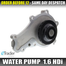 Citroen Berlingo 1.6 HDI 75 90 Water Pump Replacement Cooling