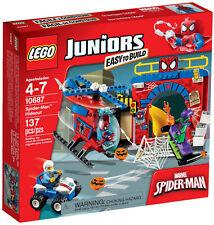Lego Juniors - 10687 Spider-Man escondite con Green Goblin-nuevo embalaje original &