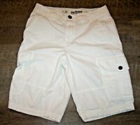Urban Pipeline White Cargo Shorts Men's Size 29 Classic Length All Cotton