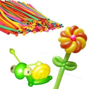 200pcs Latex 260Q Magic Balloons Twisty Modeling Balloons (Random Color)