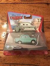 Mattel Disney Pixar Cars 2 PETROV TRUNKOV #18 Car Lemon 1:55 Scale