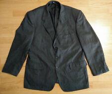 Biella Marco Mens Jacket 44 3 Button Wool Blazer Sport Coat Casual Dark Grey