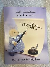 Muffy VanderBear Coloring and Activity Book 1998 New. 30 Pages Of Fun.