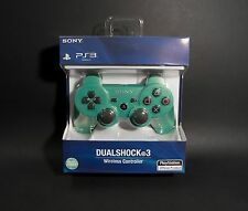 Emerald Green PS3 Wireless Bluetooth controller Dualshock - Quality Guaranteed!