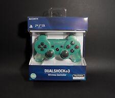 Emerald Green PS3 Wireless Bluetooth controller Dualshock - Quality Guaranteed!