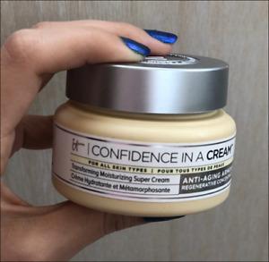IT Cosmetics In A Face Cream Hydrating Confidence Moisturizer Transforming