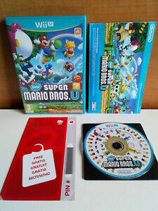 New Super Mario Bros. U Wii U / version francaise . disque sans éraflure