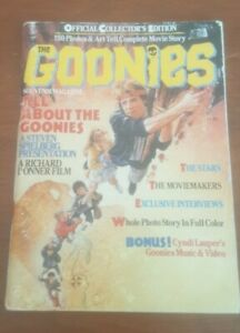 The Goonies Official Collector's Edition Souvenir Magazine Softcover