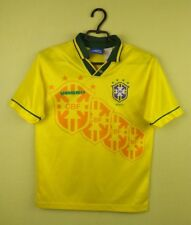 Brazil team jersey shirt 1992/1993 Home umbro football soccer size kids