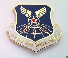 AIR FORCE GLOBAL STRIKE COMMAND Military Veteran US AIR FORCE Hat Pin 14644 HO